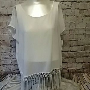 NWT Ana Sheer Blouse